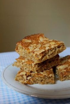 Easy and fast recipe for soft, chewy flapjacks made with Golden Syrup.