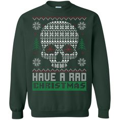 Have a Rad Christmas Ugly Sweater - DecalCustom