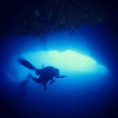 #PADI #CavernDive #scuba