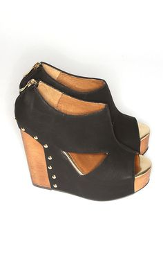 Riffraff | jam session - black~ wish I could wear these!!  Would probably fall and break my neck, but they sure are beautiful :)