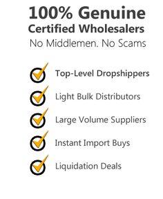 Wholesale Suppliers | Drop Shipping - Bulk - Liquidation
