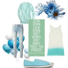"""slow down a little bit"" by chanett11 on Polyvore"