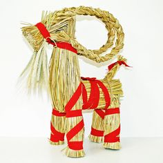 "Straw Goat - Julbock - 28"" High (85013)"