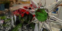 Glassterne - engel glas