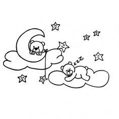 osos durmiendo en las nubes