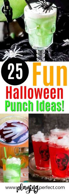 Halloween punch idea