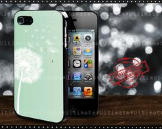 Phone Cases – Dandelion iphone 4/4S/5 case cover – a unique product by Reyes-Dawn- on DaWanda