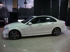 2010 Mercedes C63 - 10,128 miles - $54,990 - AMG Development Package