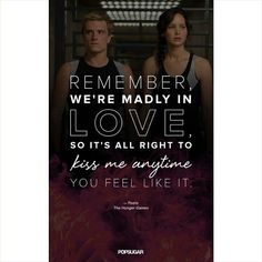 The Hunger Games Quotes you'll fall in love with.