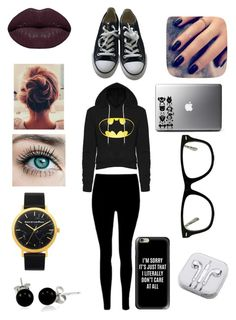 """""""Studying"""" by bruhits-lovefor-fashion on Polyvore featuring Converse, Casetify, Muse, PhunkeeTree, Bling Jewelry, Winky Lux and Lottie"""