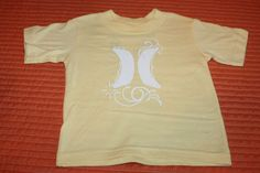 Hurley Toddler's Yellow Size 12 Months Tee Shirt T Shirt Surfer Baby   eBay