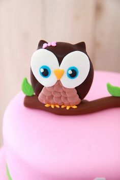 Handmade Fondant Owl | by The Sugar Fairy | Flickr