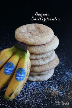 Banana Snickerdoodles – Bake to the roots #cookiessnickerdoodle
