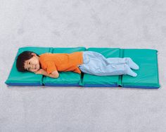 Heat-Sealed Hygienic Folding Rest Mat- our children would love to rest on this mats