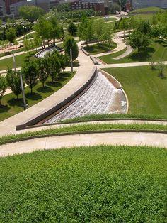 University of Cincinnati Ohio, Campus Green on The National Design Awards…