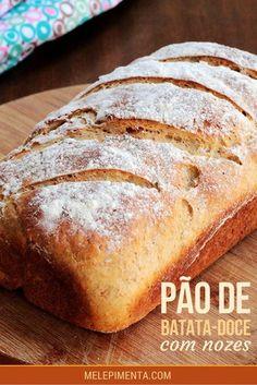 Easy Banana Bread, Gluten Free Banana Bread, Banana Bread Recipes, Confort Food, Cooking Bread, Beer Bread, Potato Bread, Portuguese Recipes, Dessert Bread