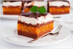 Ciasto kilimandżaro - I Love Bake Something Sweet, Tiramisu, Cheesecake, Dessert Recipes, Menu, Pudding, Baking, My Love, Ethnic Recipes