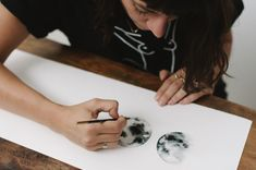 Lunar Love shot by Love Made Visible Watercolor Moon, Moon Phases, Female Form, Watercolours, Rings For Men, Artwork, Men Rings, Work Of Art, Auguste Rodin Artwork