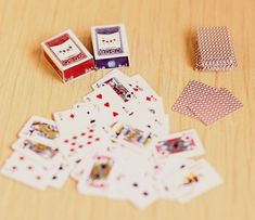 Re-ment Dollhouse Miniature Games Poker for blythe Barbie set ( B ) | eBay
