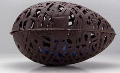 How to make home made chocolate Easter eggs with Ann Reardon