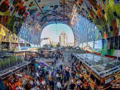 Market Hall Binnenrotte Rotterdam.