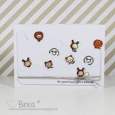 Mama Elephant, Karte, card, Tiere, animals, cute