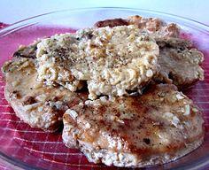 Pork Chops a la City Chicken from Grandma Loy Pork Rib Roast, Pork Ribs, Pork Chops, City Chicken, Good Monday, Roasts, Gravy, Lamb, Salsa