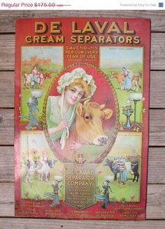 May Sale De Laval Cream Separator Advertising by HobbitHouse