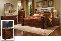 5 Piece Triomphe Bedroom Set 57202 5PCSET American Furniture Warehouse  Where You Will Find The Lowest Prices Daily Http Www Afwonline Com F.