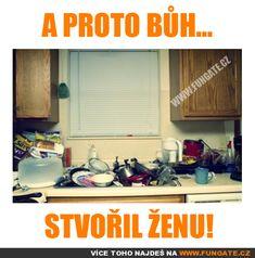 A proto bůh. Good Jokes, Funny Jokes, Chuck Norris, Funny Pictures, Lol, Comedy, Memes, Design, Fanny Pics