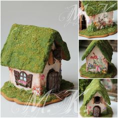 Forest Lodge cookie house by Mila Krylova