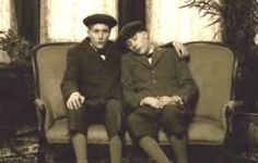 Image result for memento mori photographs  I think this photo is from the Victorian times where people would take a final photo with their deceased family member. I think it is quite weird because this boy is sat next to a dead body - I think they are both brothers. I wouldn't be able to do this!