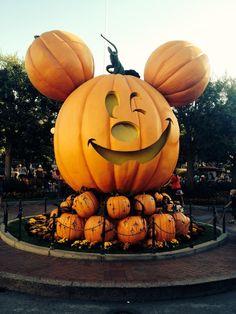 Disneyland Resort, Anaheim, California    Halloween time at Disneyland!