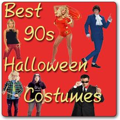Great collection of 90s Halloween Costumes