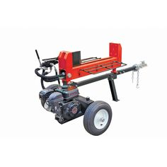20 ton Log Splitter Gasoline powered (does not ship to California, AK or HI) Aluminium Greenhouse, Harbor Freight Tools, Log Splitter, Wood Chipper, Polycarbonate Panels, Outdoor Tools, Diy Wood Projects, Growing Vegetables, Home Depot