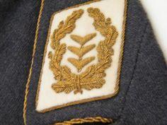Collar Rank Patch more details @ www.ww2militaria.net The Third Reich, Luftwaffe, World War, Wwii, Boards, Shoulder, Planks, World War Ii, Air Force