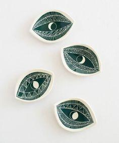 Emerald Spirit Eye Dish