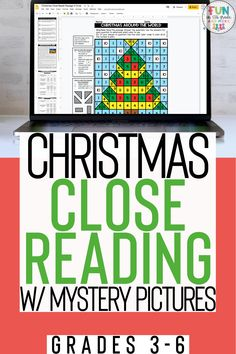 Christmas close reads with mystery pictures is a great engaging activity to celebrate Christmas in the upper elementary classroom. Your students will love practicing close reading strategies while learning about Christmas around the world. There are three DIFFERENT passages each DIFFERENTIATED at three DIFFERENT reading levels. Can be printed and used digitally. Each text comes with 10 text dependent questions, a writing prompt, graphic organizers, and a mystery grid picture.