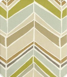 Orsa Moonstone: herringbone fabric in soft earth tones plus pale aqua...perfect colors for living room or dining room