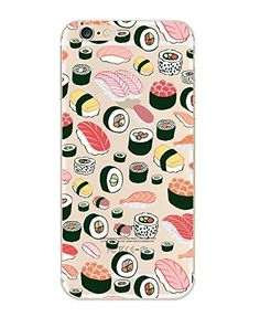 iPhone 6 Case, DECO FAIRY® Protective Case Bumper[Scratch-Resistant] [Perfect Fit] Translucent Silicone Clear Case Gel Cover for Apple iPhone 6 (Sushi Pandemonium foodie iPhone 6 4.7) DECO FAIRY® http://www.amazon.com/dp/B00WYPVUUI/ref=cm_sw_r_pi_dp_ObN3vb04AN16Y