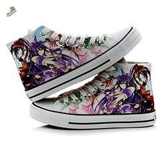 Date A Live Yatogami Tohka Tokisaki Kurumi Cosplay Shoes Canvas Shoes Sneakers Colourful - Telacos sneakers for women (*Amazon Partner-Link)