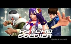 The King of Fighters XIV: Team Psycho Soldier Trailer
