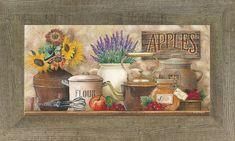 Antique Kitchen by artist Ed Wargo ED195