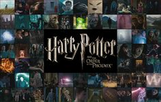 Icon Collage of Harry Potter and the Order of the Phoenix - HP and the Order of the Phoenix by Lexxa24.deviantart.com on @deviantART