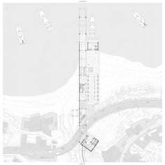 The Mediterranean, Joaquim Sellas, Ceuta, ESP Architecture Site Plan, Architecture Graphics, Architecture Drawings, Architecture Portfolio, Concept Architecture, Architecture Diagrams, Landscape Architecture, Site Plan Rendering, Site Plan Drawing