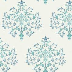 Svensk blå blomst 1