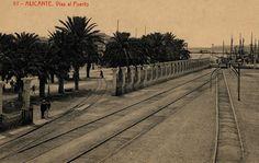 El puerto de Alicante. Años 30