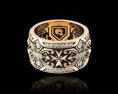 Dominion Band - Jawbone Collection | NightRider Jewelry