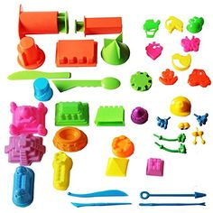 Beach/sand Toys Delicious 16pcs Kids Outdoor Beach Sand Toys Soft Rubber Beach Bucket Playset Sand Clay Mold Sand Water Playing Tool Toy For Kids Gifts Toys & Hobbies