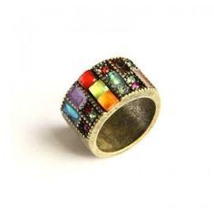 Retro Old Jewel Ring [AR0108] - $8.99 : - StyleSays